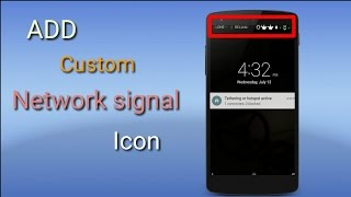[GUIDE][LP] How To Add Custom Network Signal Icon In Your Roms!!