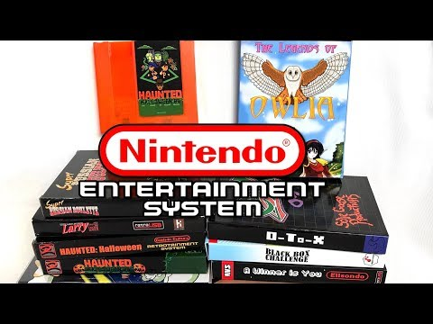 NEW GAMES for NES - Nintendo Homebrews!