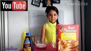 Hola amiguitos en esta ocasión les presento mi receta de Pancakes de colores. Una receta fácil de realizar con la ayuda de un adulto. Espero que sea de su agrado !!!! Gracias por ver mis videos !!!!!