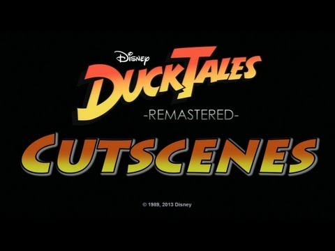 DuckTales Remastered: All Cutscenes HD (Full Movie)