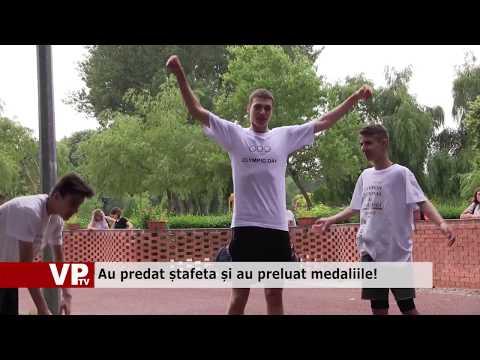 Au predat ștafeta și au preluat medaliile!