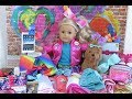 JoJo Siwa ~ American Girl Doll Packing For Vacation