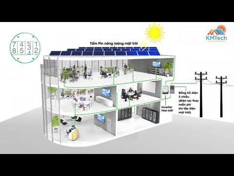 Điện Mặt Trời hòa lưới Khải Minh Solar Technology
