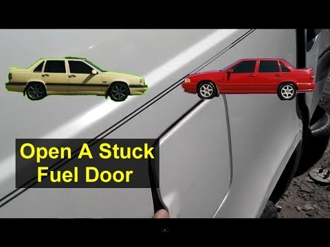 Fuel Door Stuck Closed, How To Release It, Volvo 850, S70, V70, XC70 – Auto Information Series