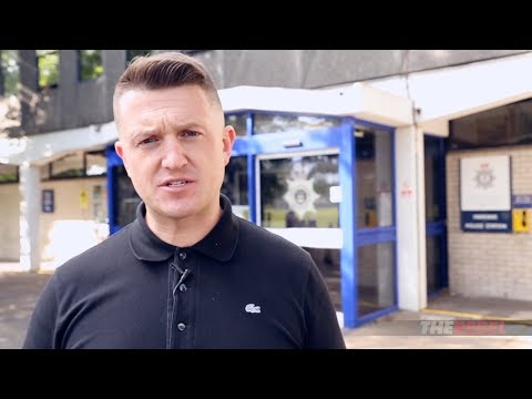 Tommy Robinson: I'm suing Cambridgeshire Police! (видео)