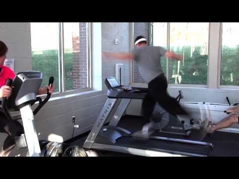 Health TN Treadmill Workout gone bad Health Exchange insurance Commercial