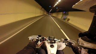 10. Tunnel Run - Yamaha Yfz450R GoPro Road Legal Quad Raptor 700 London England United Kingdom Synergy