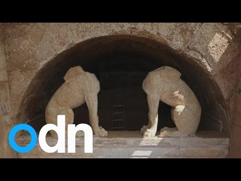 greek - Subscribe here: http://bit.ly/ODNsubs An ancient Greek tomb, dating back to the time of Alexander the Great, has been uncovered by archaeologists. Report by Stephanie Prentice. Like our tunes?...