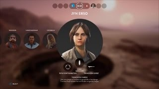Star Wars Battlefront Heroes Vs Villains 485 Jyn Erso Gameplay