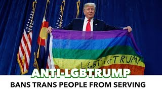 President Trump just reinstated a ban on transgender people in military service. ===================== Support Us On ...