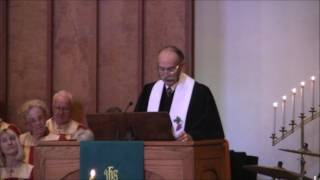 "Sermon: ""Entrusted!""; Rev. David Warner, November 13, 2016"