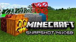 Minecraft: Lego Blocks, Swimming Slimes, and More! (Snapshot 14w06b)