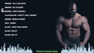 Hip Hop Workout Music Mix -  Eminem Motivation Music