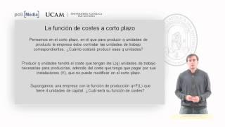 Microeconomía II - El Coste De La Producción (1) - Alfonso Rosa García