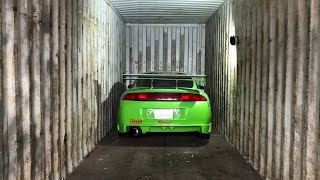 Video Je sors ma Mitsubishi Eclipse Fast & Furious du container ! MP3, 3GP, MP4, WEBM, AVI, FLV Maret 2019
