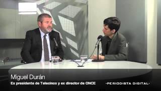 Entrevista a Miguel Durán. 16 octubre 2012
