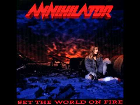 Annihilator - Hell bent for leather lyrics
