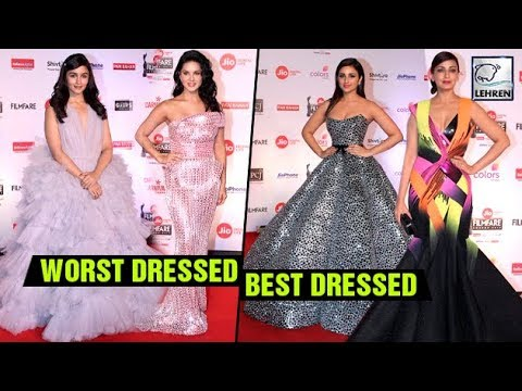 Best And Worst Dressed Actresses At Filmfare Red C
