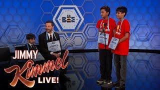 Video 13th Annual Jimmy Kimmel Live Spelling Bee MP3, 3GP, MP4, WEBM, AVI, FLV Juli 2019
