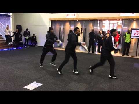 Zinto's Flash Mob Energises At Expo