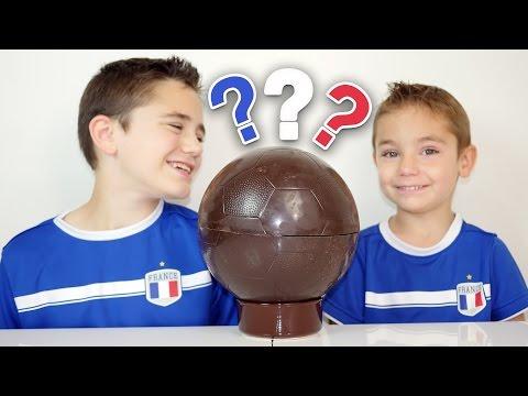BALLON EN CHOCOLAT SURPRISE pour l'EURO 2016 !