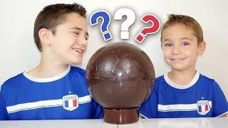 Video BALLON EN CHOCOLAT SURPRISE pour l'EURO 2016 ! MP3, 3GP, MP4, WEBM, AVI, FLV September 2017