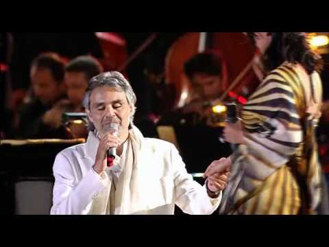 Andrea Bocelli & Laura Pausini...