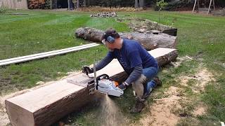 8. Granberg Chainsaw Mill (g77) with Stihl MS 271 - 20 inch wide, 13 foot long board
