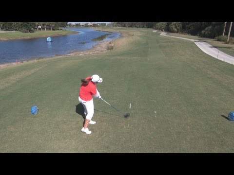 GOLF SWING 2012 – INBEE PARK DRIVER – ELEVATED DOWN THE LINE & SLOW MOTION – HQ 1080p HD 5.1 DOLBY