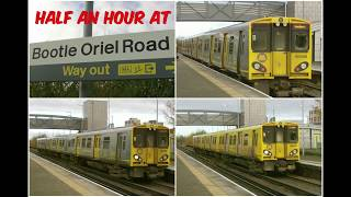 Download Lagu Half an Hour at (255) - Bootle Oriel Road Station 11.11.2017 - Merseyrail Class 507 508 Mp3