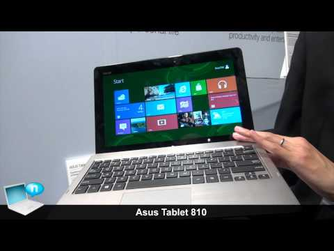 Asus Tablet 810: tablet Windows 8