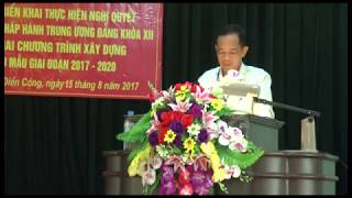 Đảng bộ xã Điền Công: Quán triệt Nghị quyết T.Ư 5 (khóa XII)