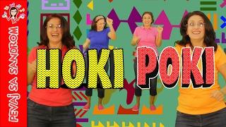 💖 Hoki poki, Hokey Pokey 💖 Pevaj sa Sandrom | Dečije pesme | Dečije priče
