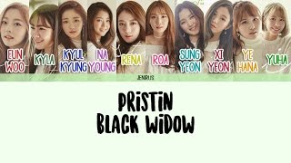 Video PRISTIN - Black Widow [Eng/Rom/Han] Color Coded Lyrics MP3, 3GP, MP4, WEBM, AVI, FLV Mei 2017