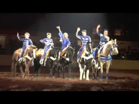 Griffith Trick Riding 2014 Ft Worth Stock Show