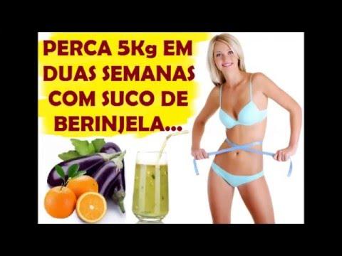 Dieta para emagrecer 5 quilos em uma semana com suco de berinjela