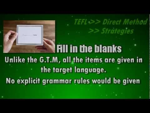 direct - Now test your self : 1/ under the direct method grammar is taught: A. Deductively. B. Directly. C. Inductively. D. Indirectly. 2/ under the direct method the...