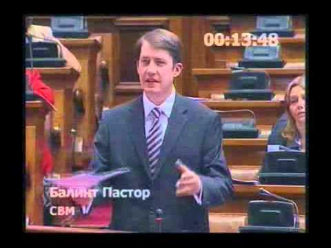 Skupštinski govor - O Zakonu o železnici-cover