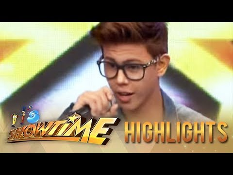 Bieber - IT'S SHOWTIME Monday-Saturday, 12NN Visit our official website! http://www.abs-cbn.com http://www.push.com.ph Facebook: http://www.facebook.com/ABSCBNnetwork...