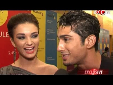 Prateik Babbar & Amy Jackson get candid