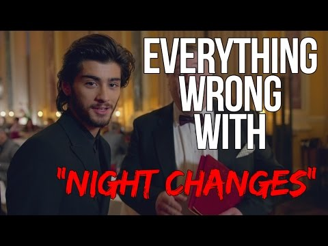 "Everything Wrong With One Direction - ""Night Changes"""