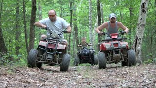 Video THE GREAT ATV CHASE MP3, 3GP, MP4, WEBM, AVI, FLV Juni 2017
