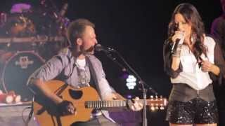 """Sara Evans - """"Just Give Me A Reason"""" - Exclusive Live Video - Pink & Nate Ruess from Fun. Cover"""