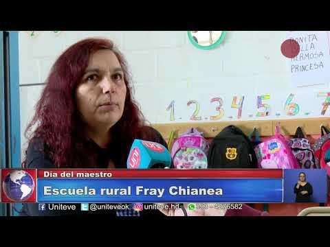 Día del maestro: Visitamos la Escuela rural Fray Anselmo Chianea