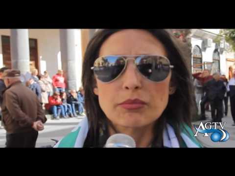 Protesta dei dipendenti Comunali di Porto Empedocle