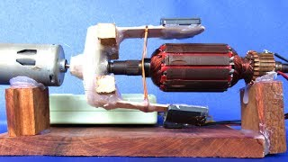 How to make electricity free energy using DC motor generator - Homemade project DIY 2018