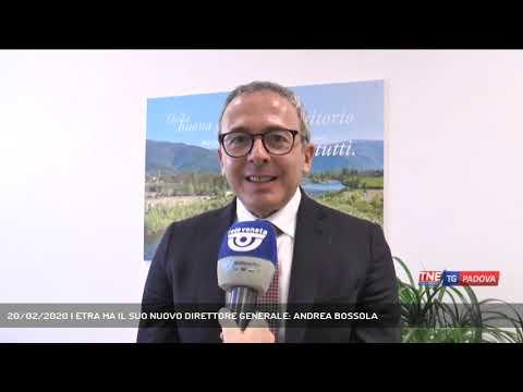 20/02/2020 | ETRA HA IL SUO NUOVO DIRETTORE GENERALE: ANDREA BOSSOLA