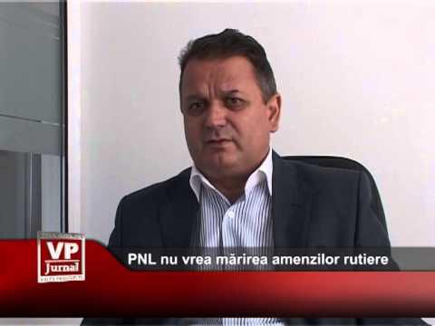 PNL nu vrea mărirea amenzilor rutiere