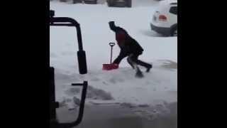 Уборщик снега 80 lvl