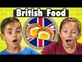 Kids Try British Food | Kids Vs Food